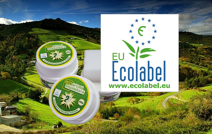 EcoArcilla sello EcoLabel